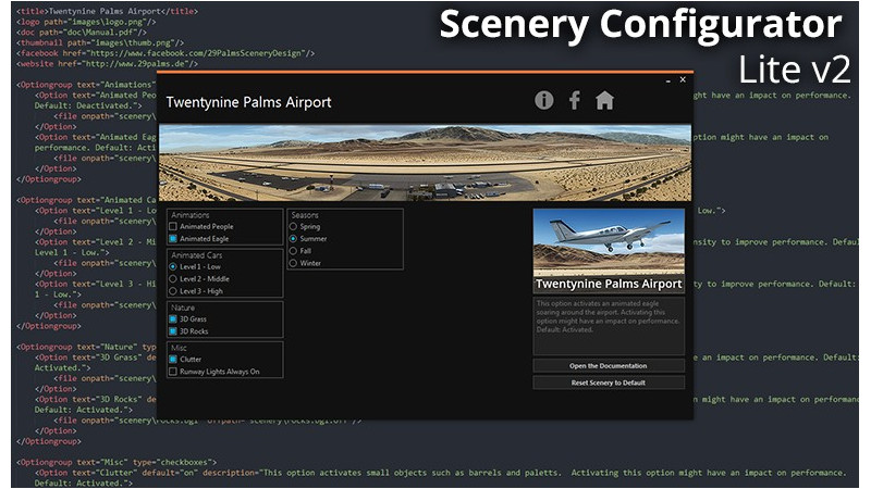 Customizable Scenery Configurator LITE