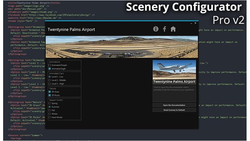 Scenery Configurator PRO
