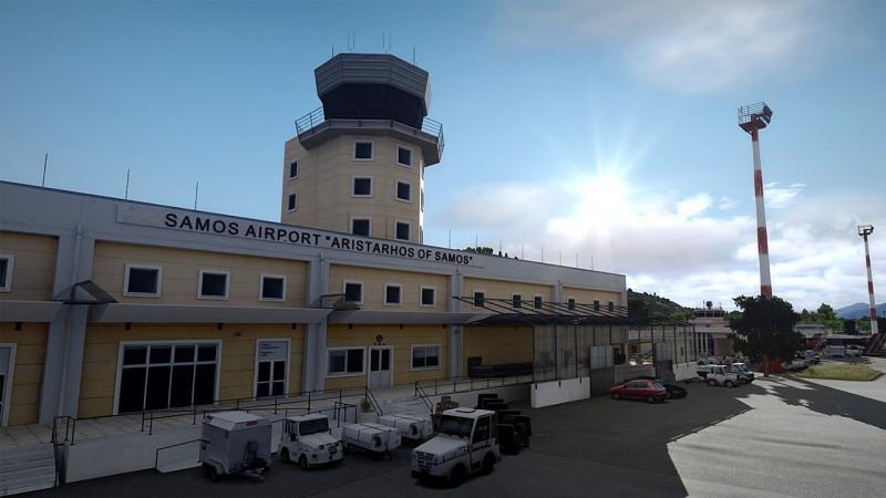 LGSM - Samos International Airport by 29Palms Scenery Design