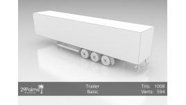 3D Model - Trailer - Basic
