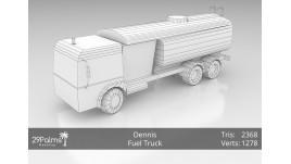 3D Model - Dennis - Fuel Truck