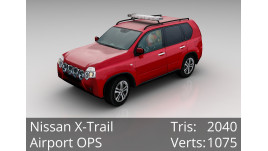 3D Model - Nissan X-Trail - Airport OPS