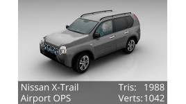 3D Model - Nissan X-Trail - Civilian