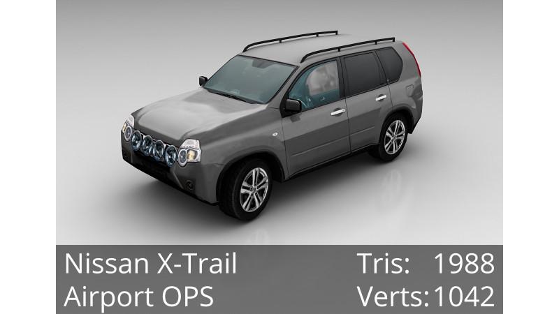 3D Model - Nissan X-Trail - Civilian