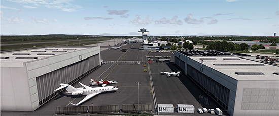 EDDN - Nuremberg Airport by 29Palms and Captain7