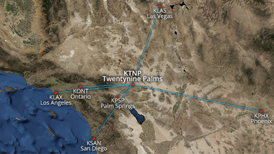 Twentynine Palms Location